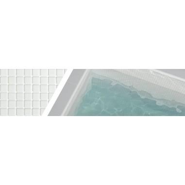 Gresite blanco niebla 3000 para piscinas 2,5x2,5