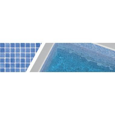 Gresite azul claro niebla 3003 para piscinas 2,5x2,5