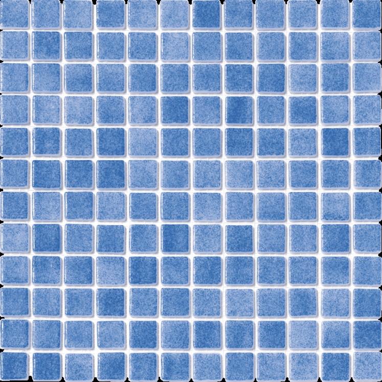 Gresite Antideslizante azul niebla 3103 para piscinas, duchas, baños