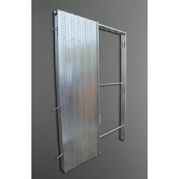 Armazón puerta corredera para tabique de obra 600x105x2030