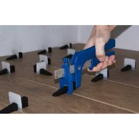 Calzo nivelación 1mm junta para cerámica en suelos y paredes. Bolsa 250 unidades