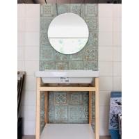 Mueble Natura Unik 650 con espejo Luna redondo