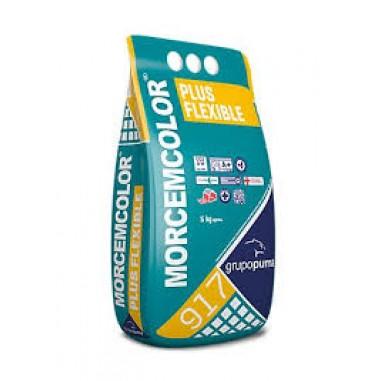 Rejunte coloreado Plus Flexible juntas de 2 a 15 mm. bolsa 3kg.