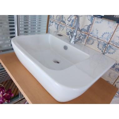 Lavabo diseño italiano Xes 60 cm. blanco