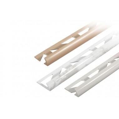 Perfil PVC esquinas 2,5ml  DBP blanco