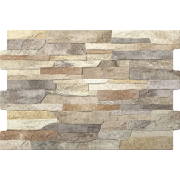 Azulejo Zafra 34x50 mix. Fachadas y paredes interior